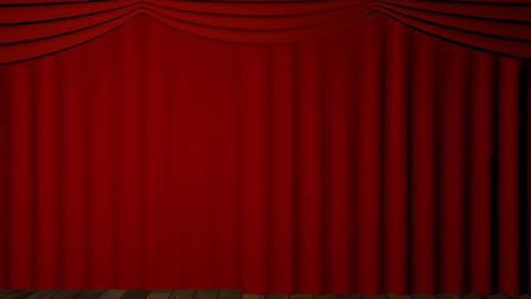 raise the curtain Stock Video Footage