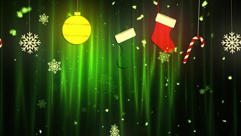 Christmas Cloth Ornaments 1 Animation