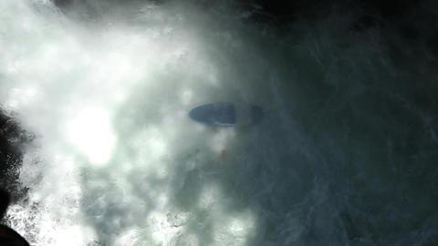 Waterfall Kayak Jump Footage