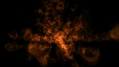 Fire animation with explosion,radiation shape.baking,stove,Game,particle,symbol,dream,decorative,min Animation