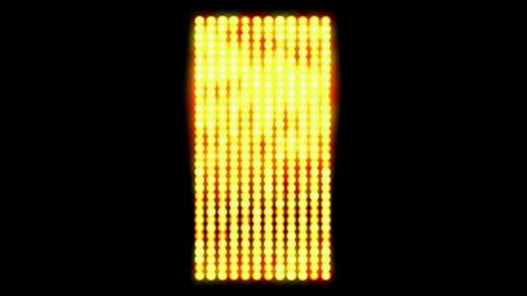 Flashing gold metalslowed down to show a golden... Stock Video Footage