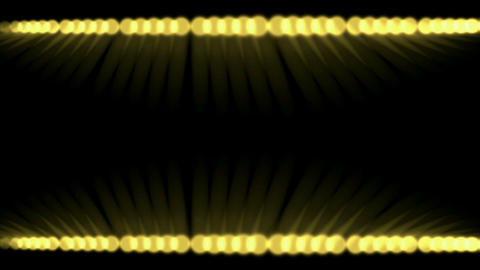 scroll balls and disco rays light,concert stage laser Stock Video Footage