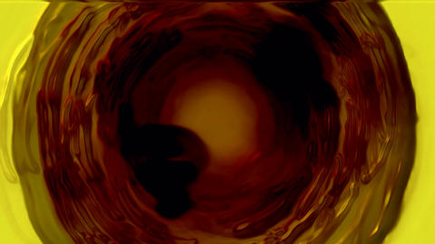 power energy deep black tunnel hole,light wire,cosmos... Stock Video Footage