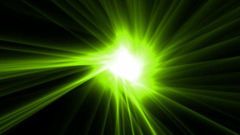 green rays laser and fire in super space,dazzling god spirit light,energy tech fibre optic cable ray Animation