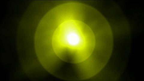 dazzling golden rays light,sun and halo,underwater clip... Stock Video Footage