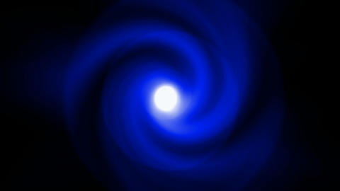 swirl blue halo tunnel hole in space,rotation rays laser... Stock Video Footage