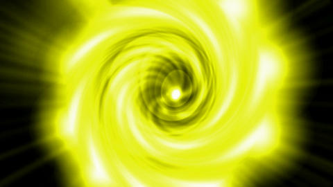 swirl golden cyclones tunnel hole in cosmos,Solar... Stock Video Footage