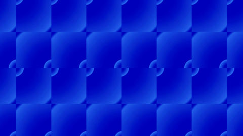 blue rectangle flooring bricks array,grid cloth mosaics... Stock Video Footage