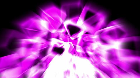 purple ice block and rays light,crystal jewelry... Stock Video Footage