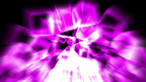 purple ice block and rays light,crystal jewelry... Stock Video Footage