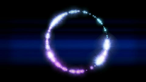 flare stars shaped circle and rays light as holiday... Stock Video Footage