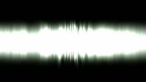 Static waveform degraded,dazzling white noise rays light... Stock Video Footage