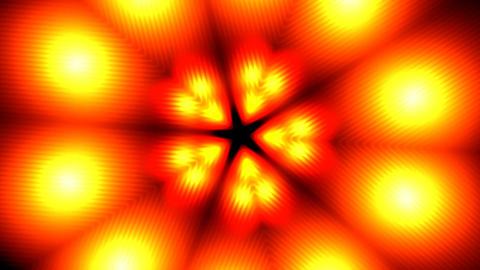 Fiery flower Animation