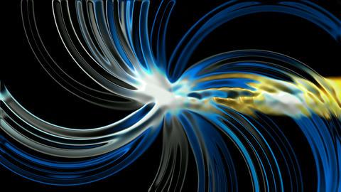 swirl mercury fiber optic and rays light,laser... Stock Video Footage