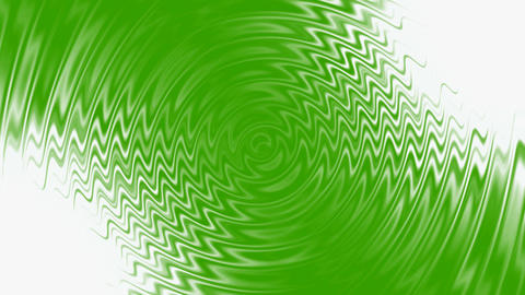 green water ripple & abstract crease waves Animation