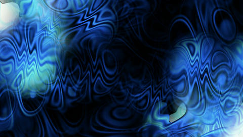 abstract blue ripple and waves background,Psychedelic... Stock Video Footage