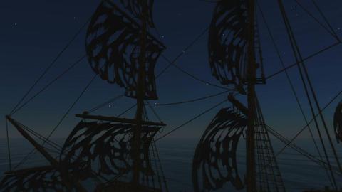 幽霊船 Stock Video Footage