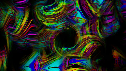abstract art colorful ripple and stripes background,flow bubble liquid,gorgeous christmas material Animation