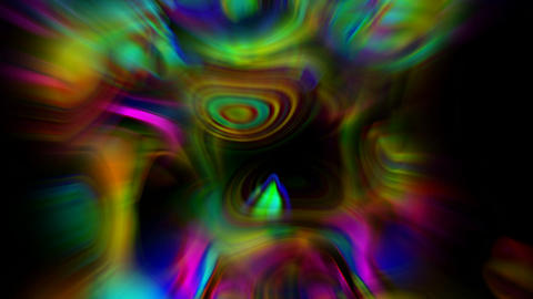 abstract art colorful ripple stripes and bokeh rays light... Stock Video Footage