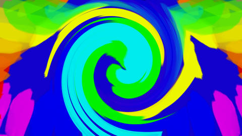 swirl streak and ribbon,abstract color ripple background Animation