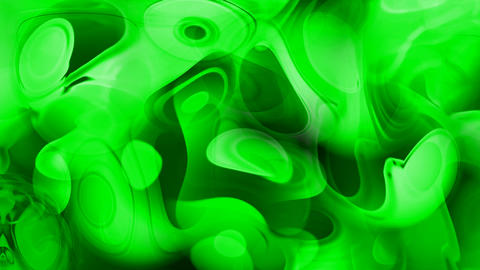 abstract circle curve background,green ripple in flow... Stock Video Footage