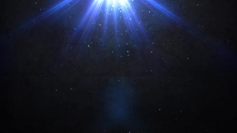 old wall and deep blue flare light Stock Video Footage