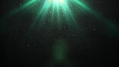 old wall and green flare light Stock Video Footage
