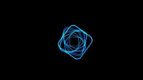 blue coil,electromagnetic... Stock Video Footage