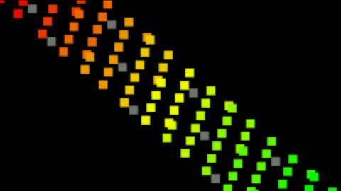 color square pattern Stock Video Footage