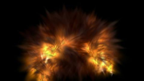 terror explosion Stock Video Footage