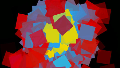 Rotating color paper... Stock Video Footage