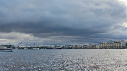 Big Neva, timelapse Stock Video Footage