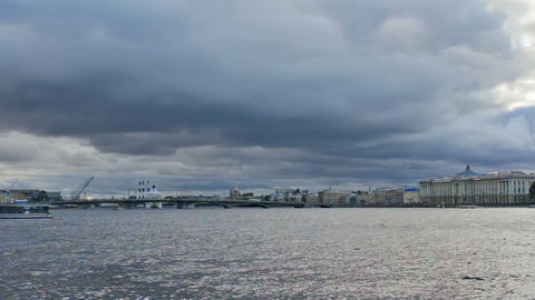 Big Neva, timelapse Stock Video Footage