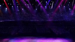 concert spotlight color mix Stock Video Footage