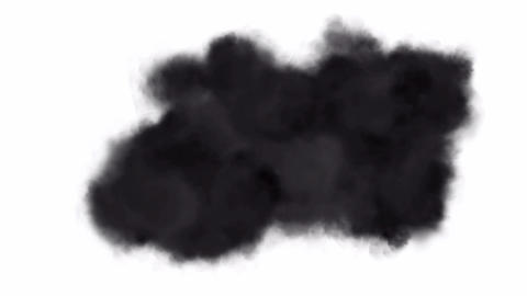 air pollution,soft black smoke,particles & dust Stock Video Footage