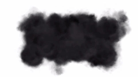 air pollution,soft black smoke,particles & dust Animation