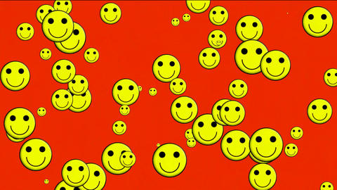 Emoticon Animation:yellow smile face.Childhood,children,cartoon,comic,young,pattern,dream,vision,ide Animation