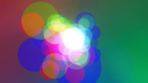Colorcles - video background loop Stock Video Footage
