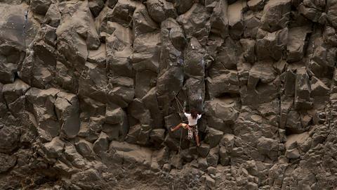 Fastest climber Footage