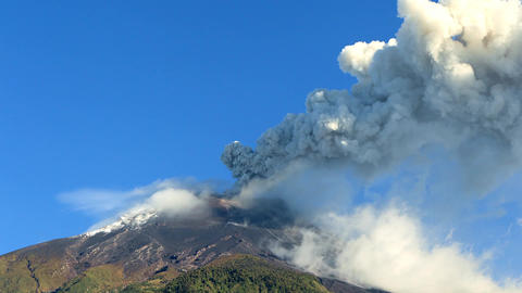 Tungurahua Volcano Eruption Archivo