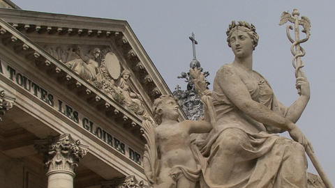 Palace of Verarchitecture, art, awe, basailles. Sculptures of the main entrance Live Action