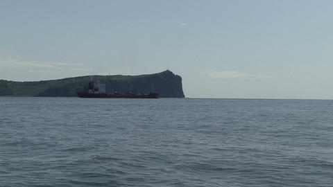 Boat trip. Avacha Bay. Kamchatka Footage