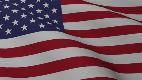 USA flag png Animation
