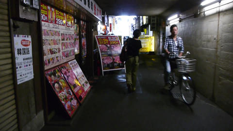 pov shopping street tsuruhashi osaka japan 06 Live Action