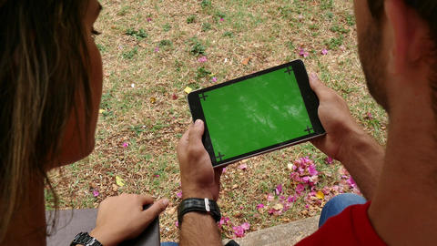 18 Education School Technology College Student Using Ipad Tablet Computer Footage