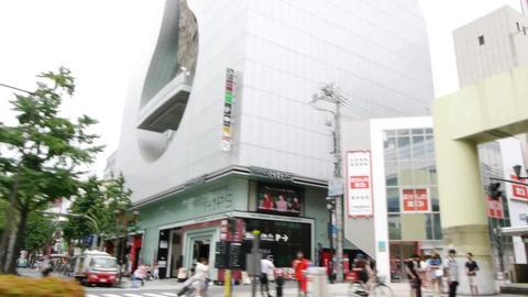 pov sennichimae osaka japan 02 Footage