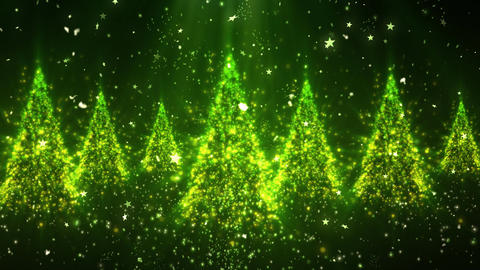 Christmas New Year Tree Glitters 1 Animation