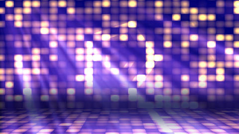 Dance Floor Lights 2– Loopable Background stock footage