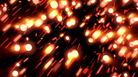 Cinematic Glow Sparks 1– Loopable Background Animation