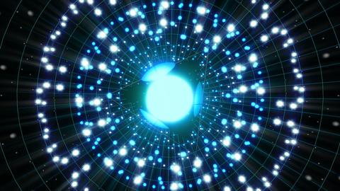 VJ Loops Color Energy Spheres